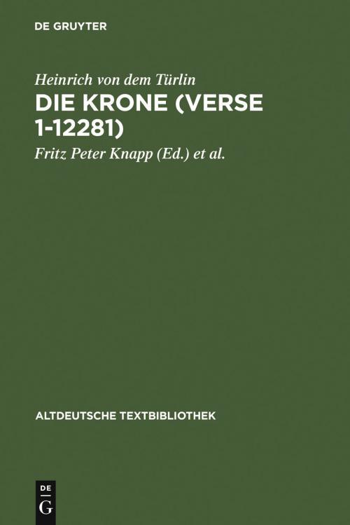 Die Krone (Verse 1-12281) cover