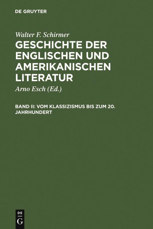 Vom Klassizismus bis zum 20. Jahrhundert cover
