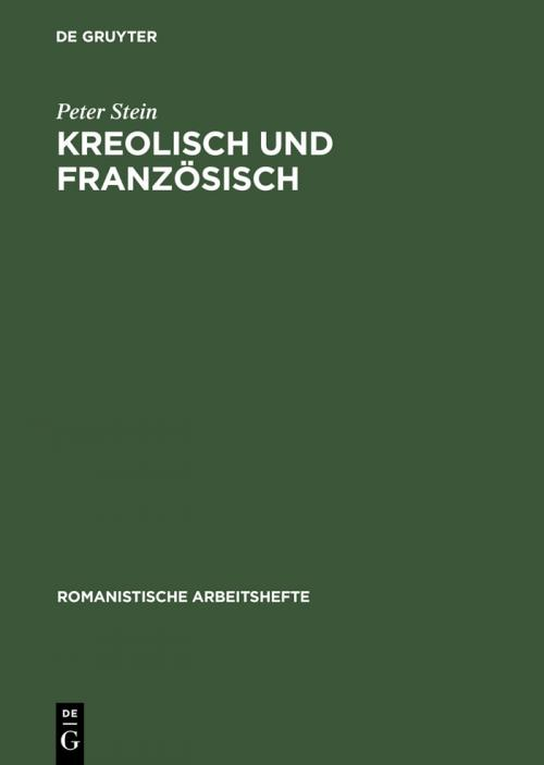Kreolisch und Französisch cover
