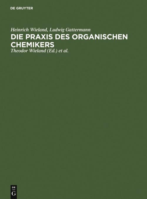 Die Praxis des organischen Chemikers cover