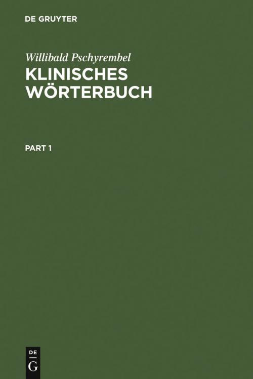 Klinisches Wörterbuch cover