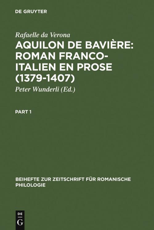 Aquilon de Bavière: Roman franco-italien en prose (1379-1407) cover