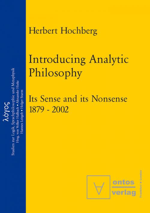 Introducing Analytic Philosophy cover