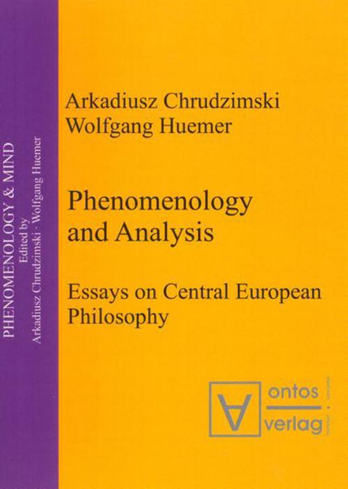Phenomenology & Analysis cover