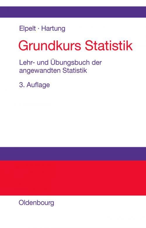 Grundkurs Statistik cover