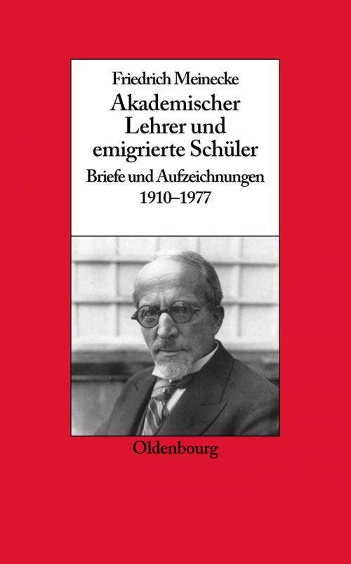 Friedrich Meinecke cover