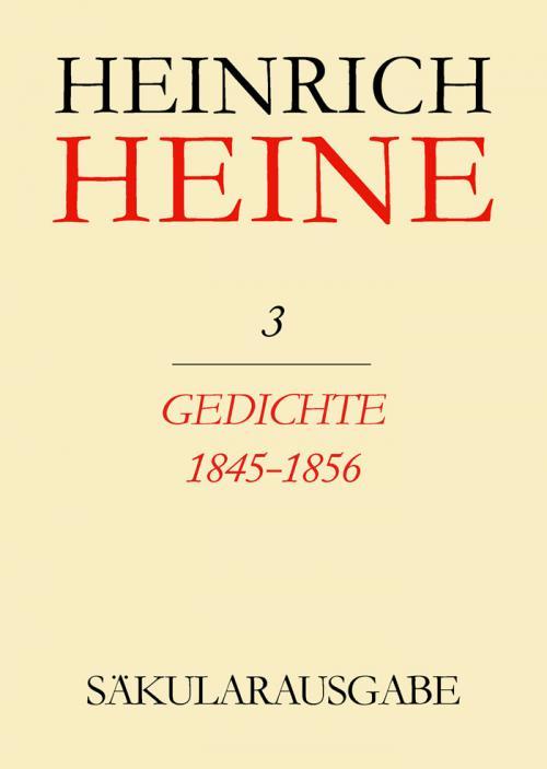 Gedichte 1845-1856 cover