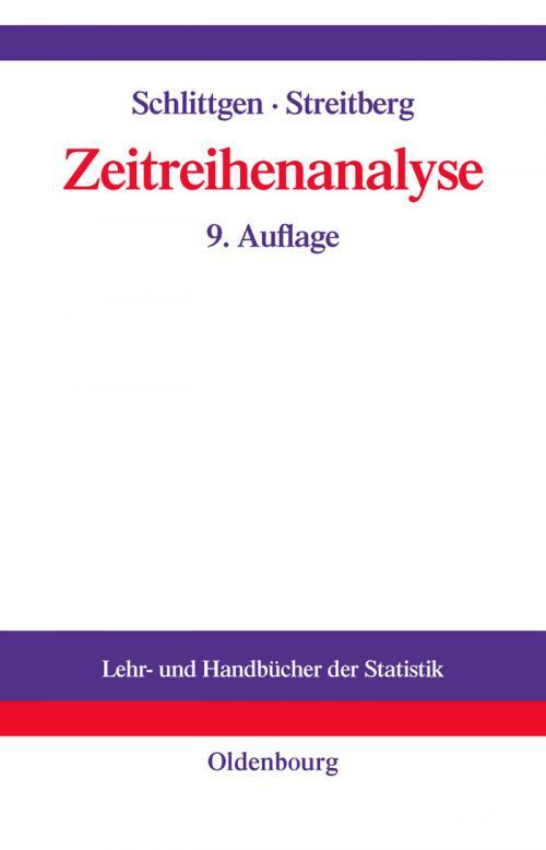 Zeitreihenanalyse cover