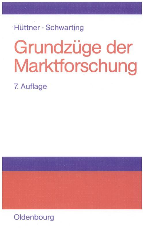 Grundzüge der Marktforschung cover