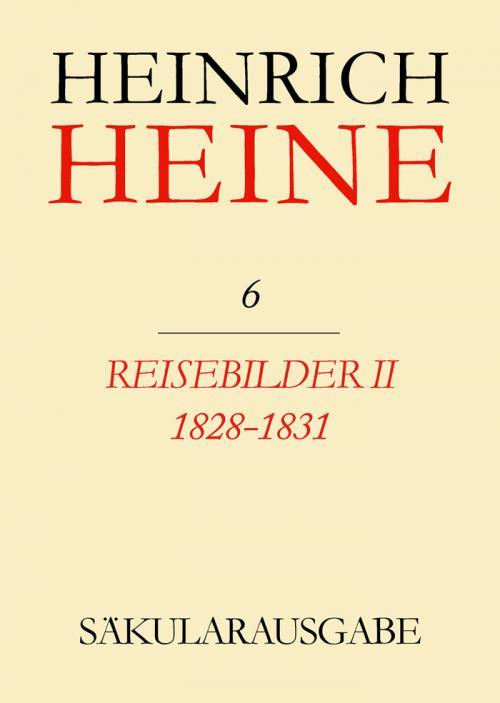 Reisebilder II. 1828-1831 cover