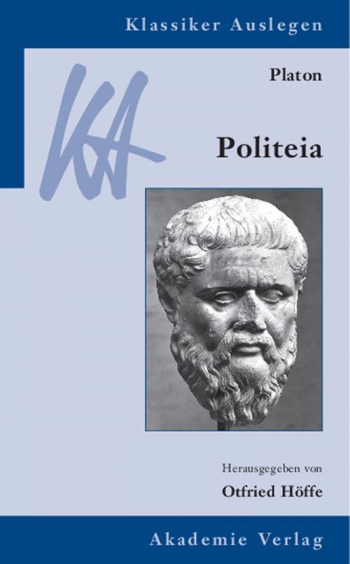 Platon: Politeia cover