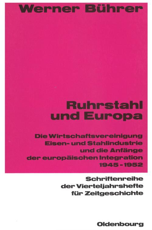 Ruhrstahl und Europa cover