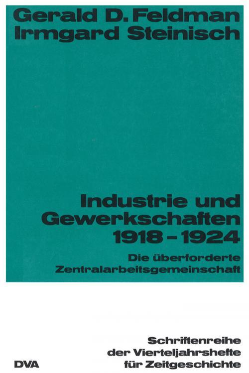 Industrie und Gewekschaften 1918-1924 cover