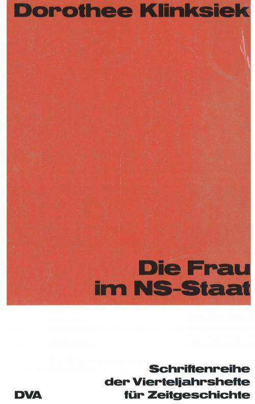 Die Frau im NS-Staat cover