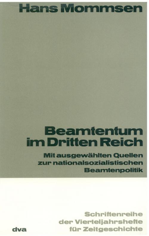 Beamtentum im Dritten Reich cover