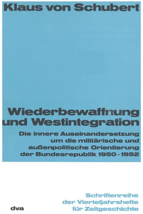 Wiederbewaffnung und Westintegration cover
