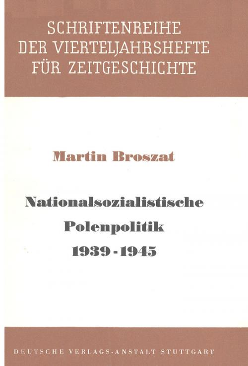Nationalsozialistische Polenpolitik 1939-1945 cover