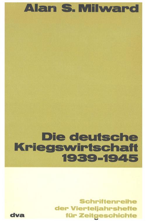Die deutsche Kriegswirtschaft 1939-1945 cover