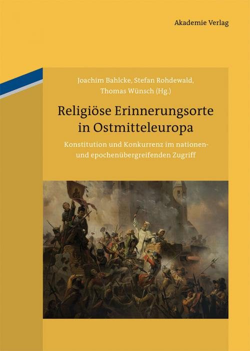 Religiöse Erinnerungsorte in Ostmitteleuropa cover