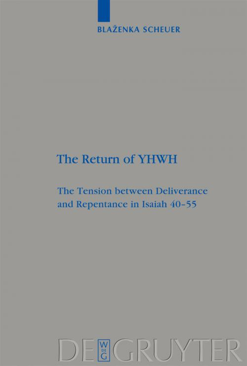 The Return of YHWH cover