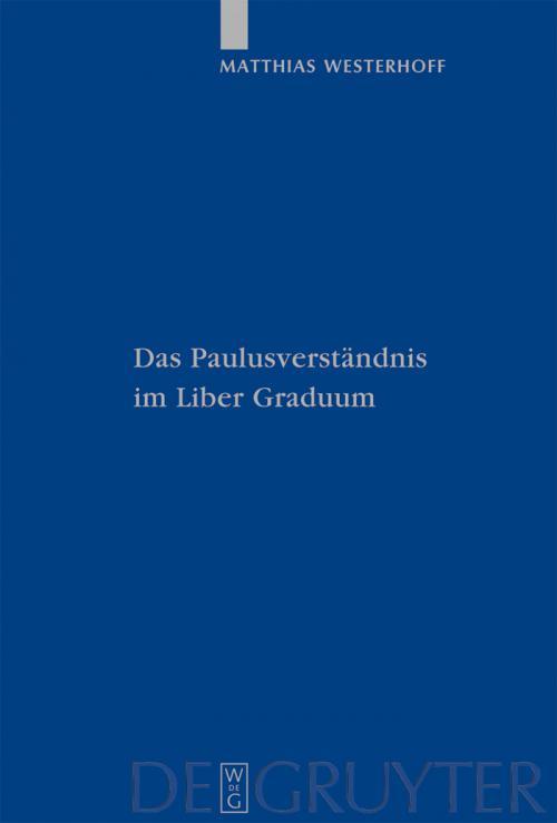 Das Paulusverständnis im Liber Graduum cover