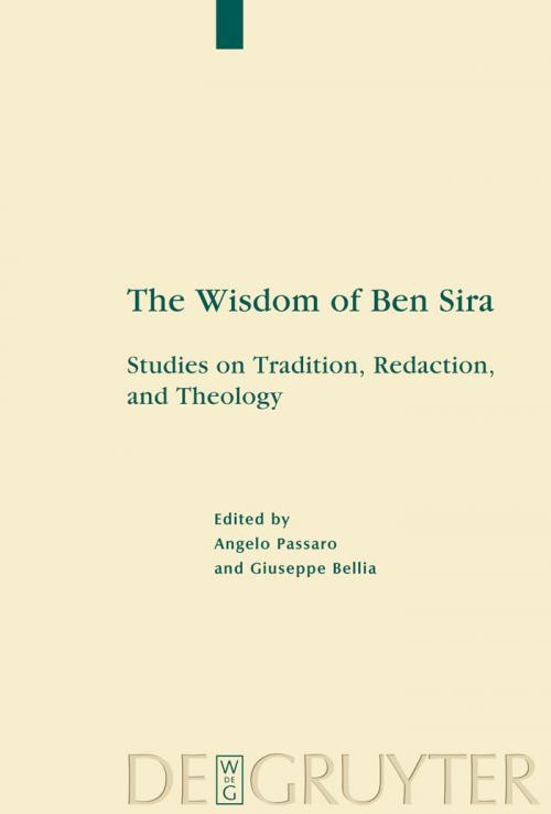 The Wisdom of Ben Sira cover