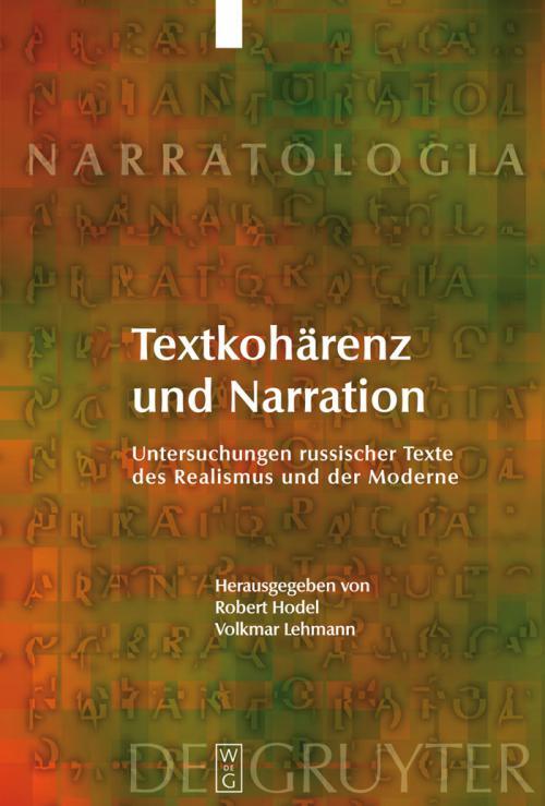 Textkohärenz und Narration cover