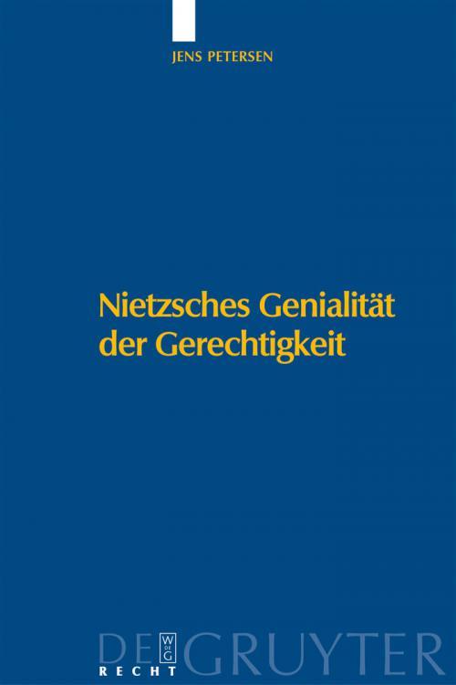 Nietzsches Genialität der Gerechtigkeit cover