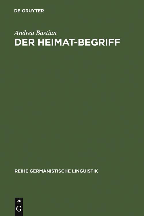 Der Heimat-Begriff cover