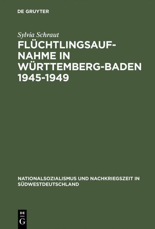 Flüchtlingsaufnahme in Württemberg-Baden 1945–1949 cover