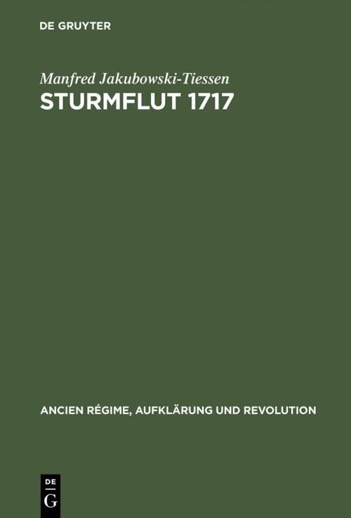 Sturmflut 1717 cover