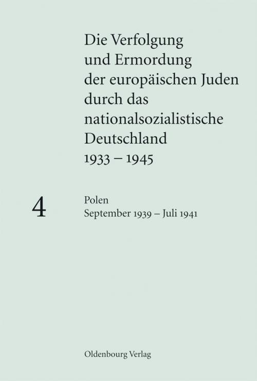 Polen September 1939 - Juli 1941 cover