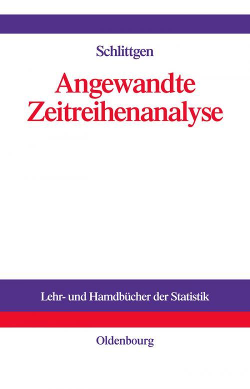 Angewandte Zeitreihenanalyse cover