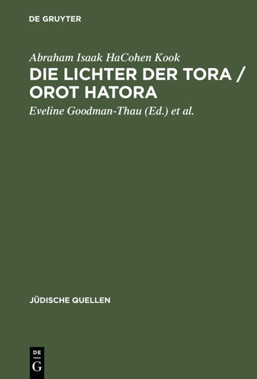 Die Lichter der Tora / Orot HaTora cover