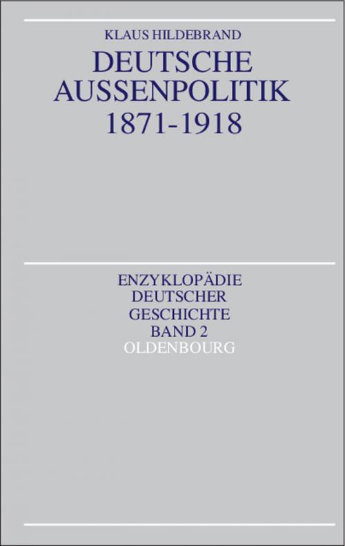 Deutsche Außenpolitik 1871-1918 cover