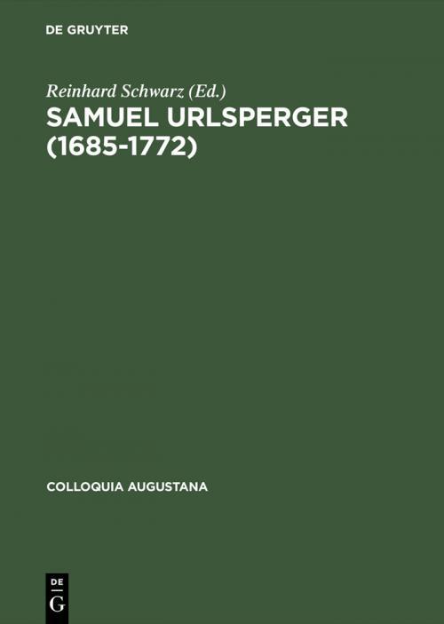 Samuel Urlsperger (1685–1772) cover