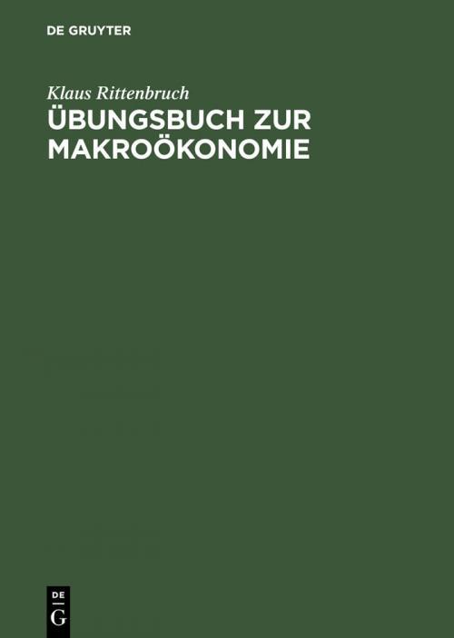Übungsbuch zur Makroökonomie cover
