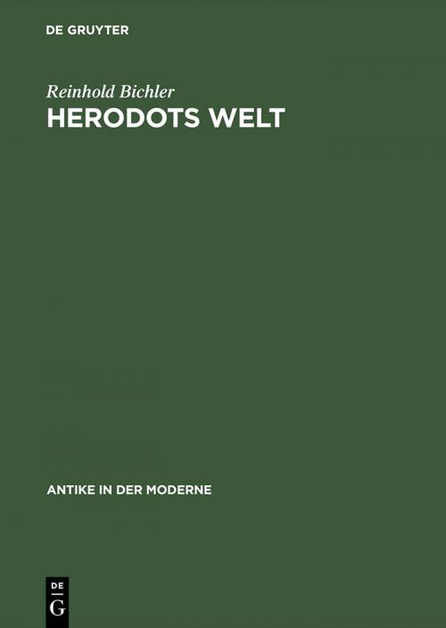 Herodots Welt cover