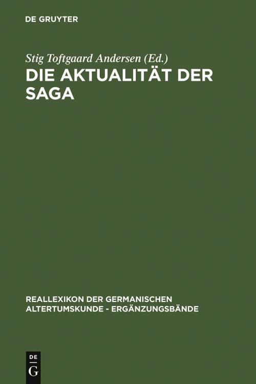 Die Aktualität der Saga cover