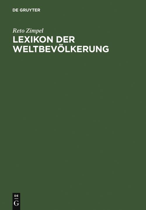 Lexikon der Weltbevölkerung cover