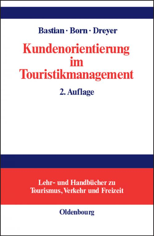 Kundenorientierung im Touristikmanagement cover