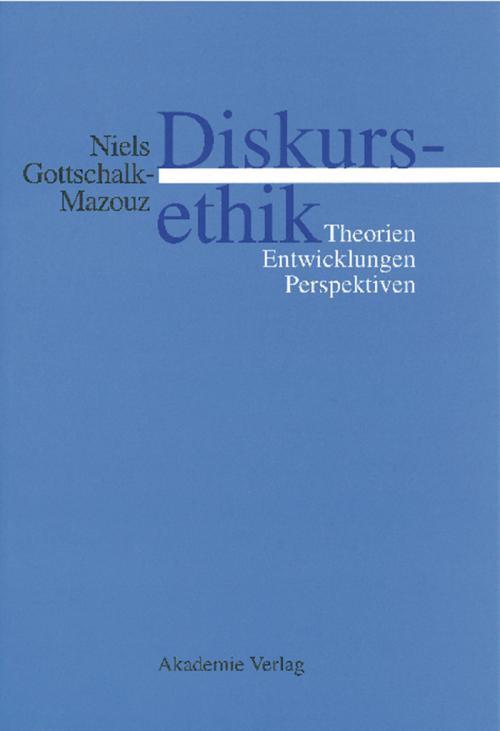 Diskursethik cover