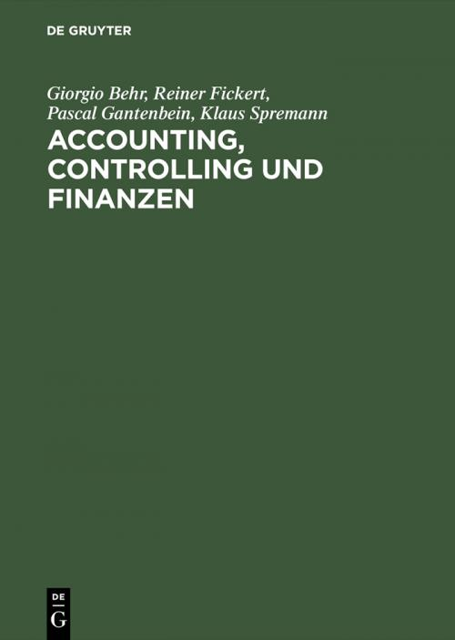 Accounting, Controlling und Finanzen cover