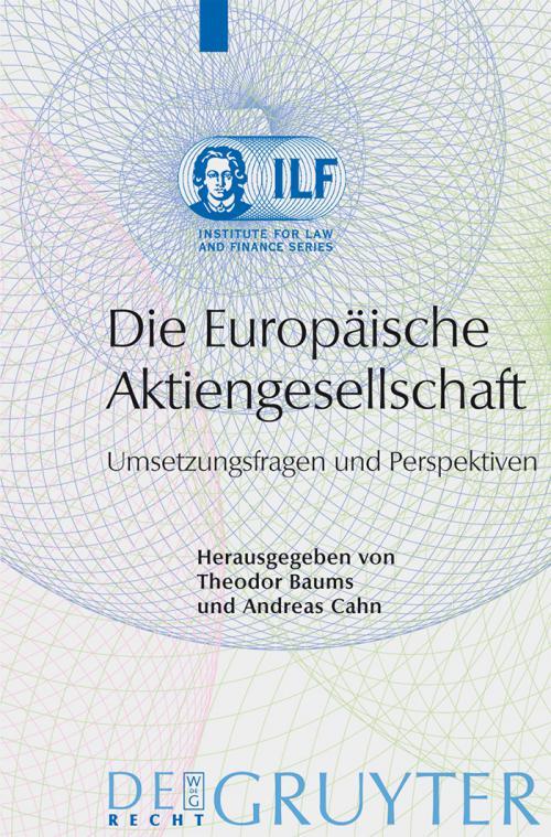 Die Europäische Aktiengesellschaft cover