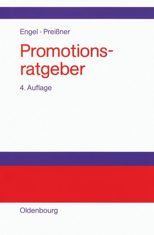 Promotionsratgeber cover