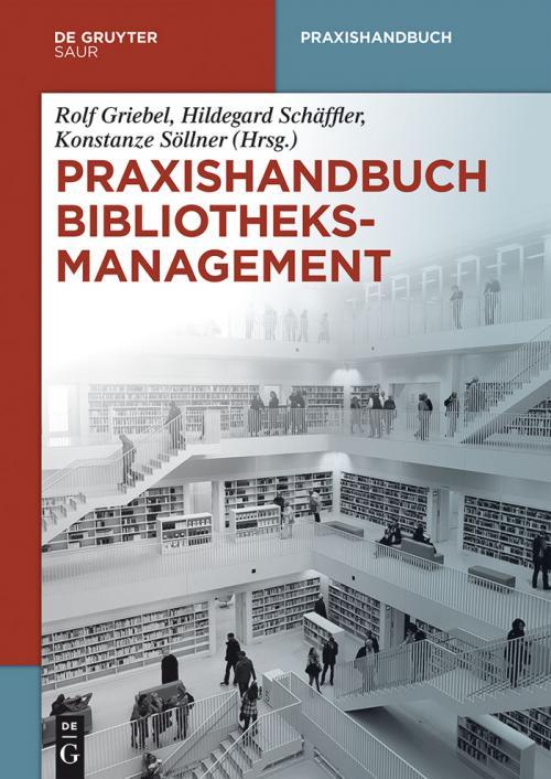 Praxishandbuch Bibliotheksmanagement cover