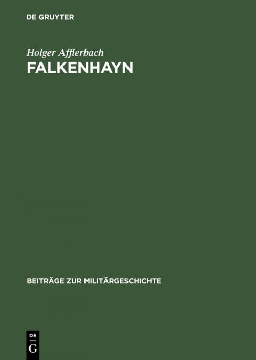 Falkenhayn cover