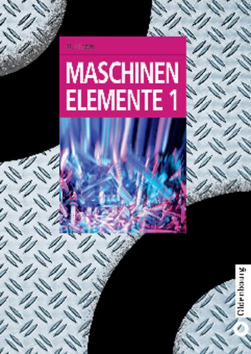 Maschinenelemente 1 cover