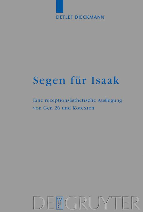 Segen für Isaak cover