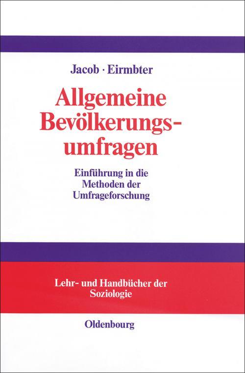 Allgemeine Bevölkerungsumfragen cover